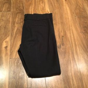Anthropologie the essentials slim Black pants
